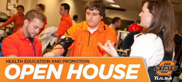 Health Education and Promotion Open House