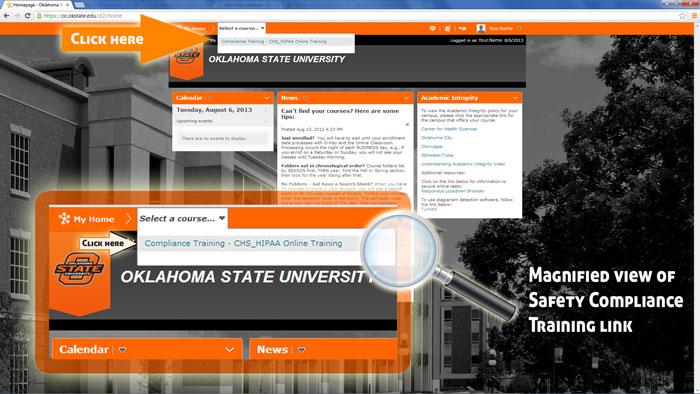 Mandatory Safety Compliance Training - Oklahoma State