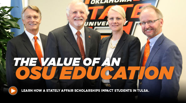 The value of an OSU education: Learn how A Stately Affair scholarships impact students in Tulsa.