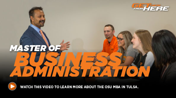 Master of Business Administration - Watch this video to learn more about the OSU MBA in Tulsa