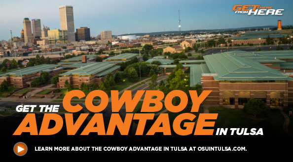 Learn more about the Cowboy Advantage in Tulsa.