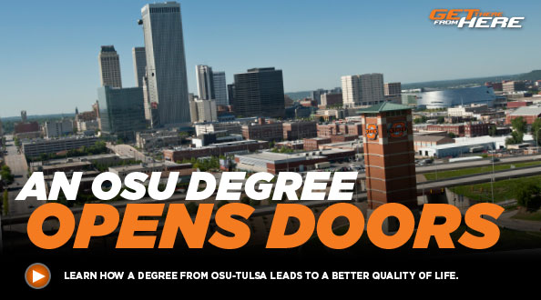 Learn how a degree from OSU-Tulsa leads to a better quality of life.